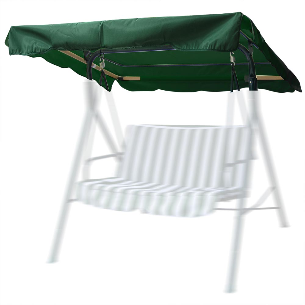 76 X44 Outdoor Swing Canopy Top Replacement Cover Garden