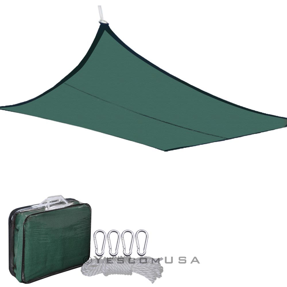 18-x18-Deluxe-Square-Sun-Shade-Sail-UV-Top-Cover-Outdoor-Canopy-Patio-Lawn-Opt