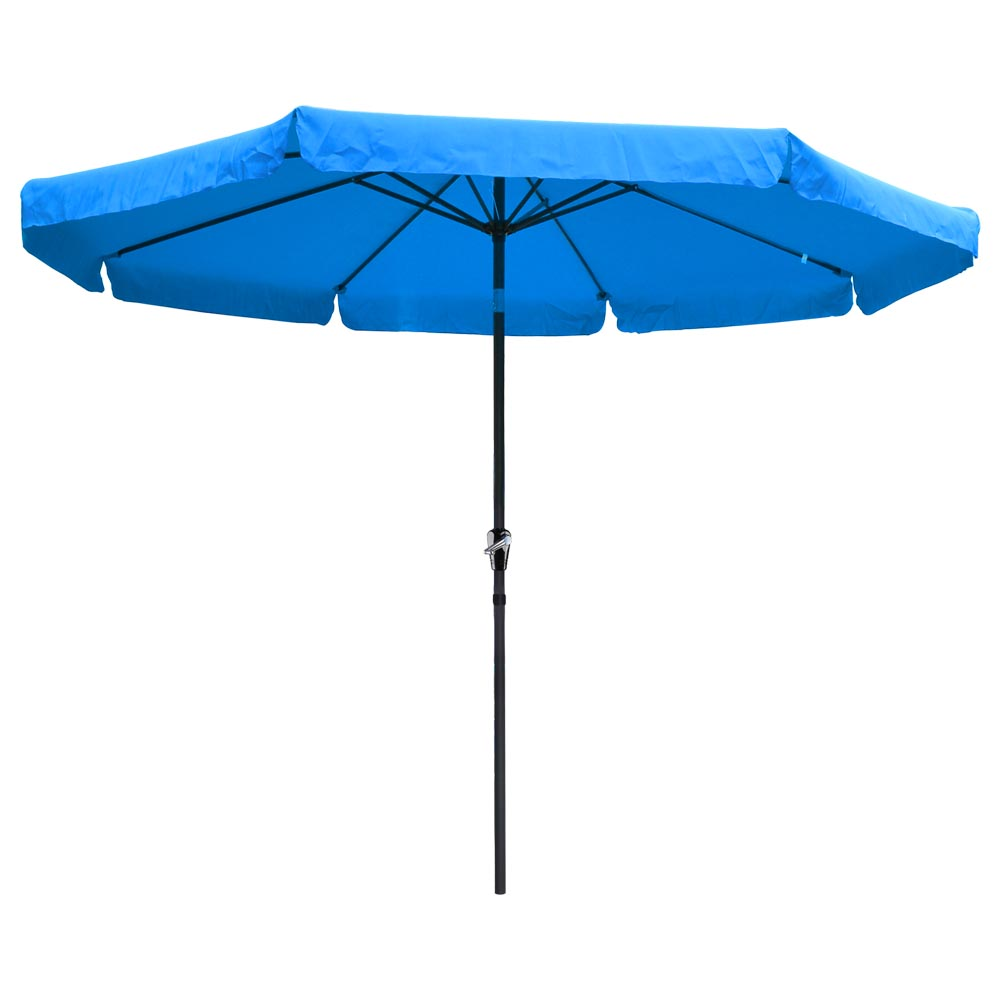 8ft 9ft 10ft 13ft outdoor patio aluminum umbrella common for Patio table umbrella 6 foot