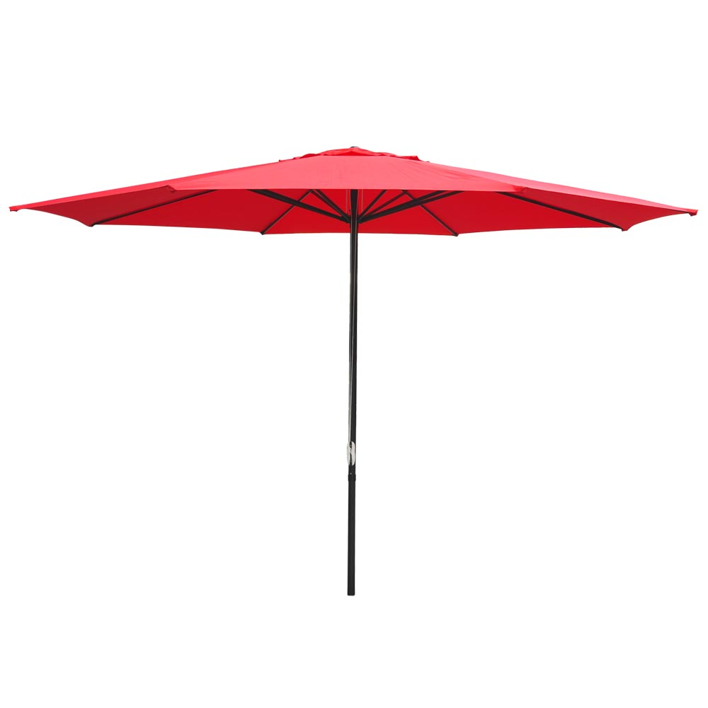 13 Ft Sun Shade Patio Aluminum Umbrella Uv30 Outdoor