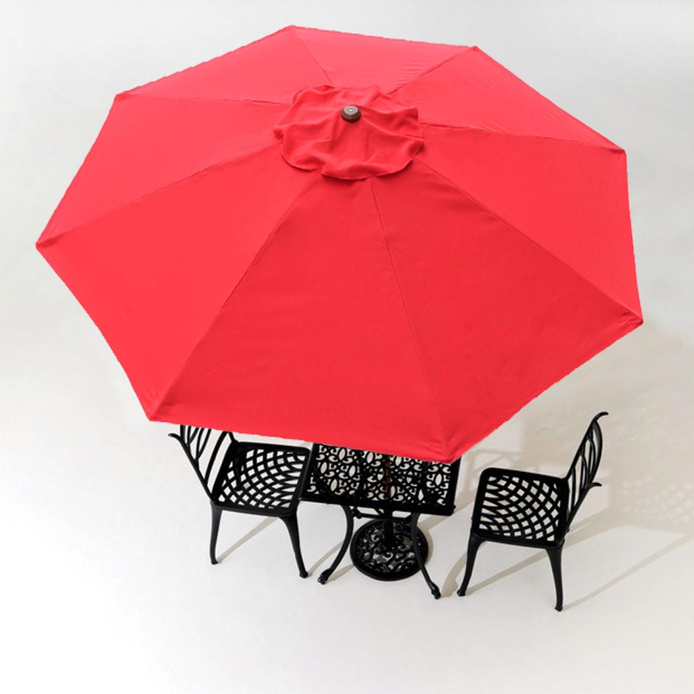 8u0027/9u0027/10u0027/13u0027 Umbrella Replacement Canopy 8 Rib Outdoor Patio Cover Top  Optional