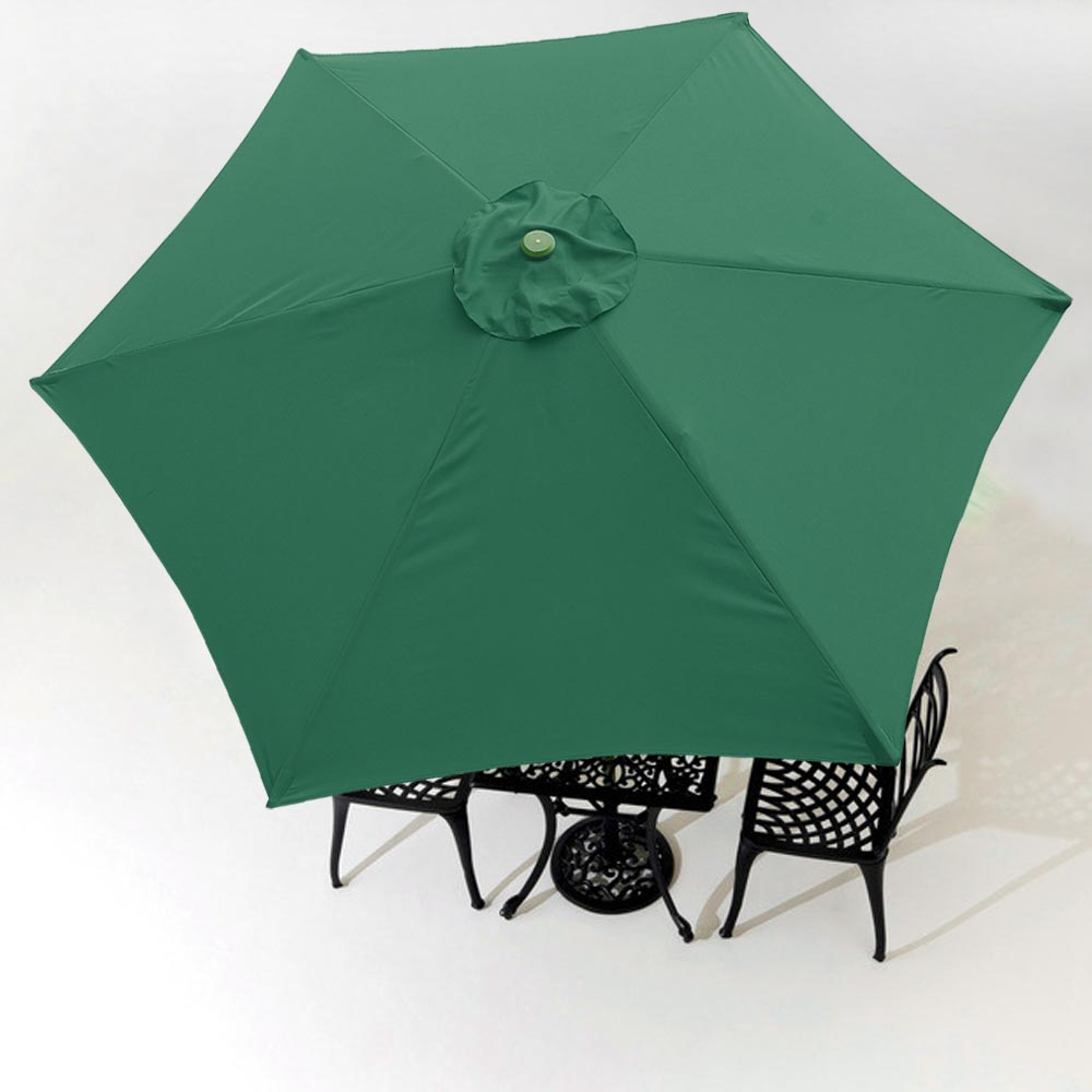 9Ft Patio Umbrella Replacement Canopy 6 Rib Outdoor Garden