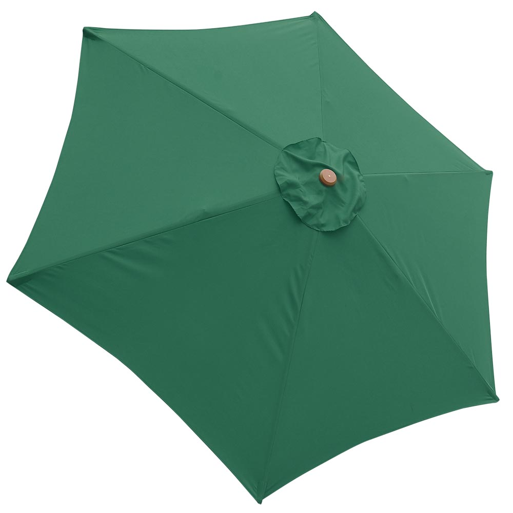 9ft patio umbrella replacement canopy 6 rib outdoor market for 9 ft garden pool