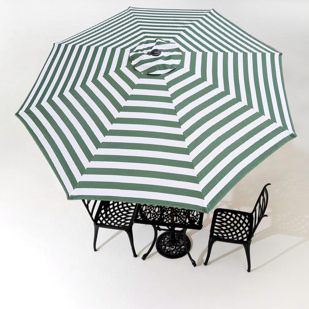 Patio Umbrella Replacement Canopy: 9FT Patio Umbrella Replacement Canopy Top Cover 8 Ribs