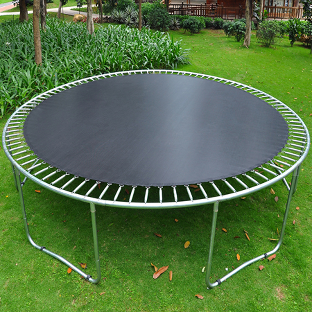 13.3' Waterproof Trampoline Mat 96 Rings For 15' Frame 7