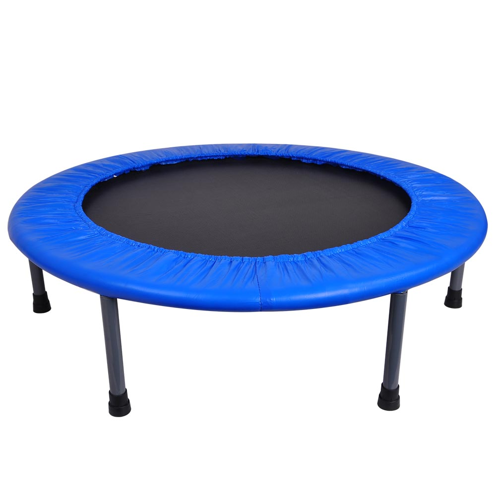 36 mini trampoline gym circuit trainer fitness exercise workout rebounder home ebay. Black Bedroom Furniture Sets. Home Design Ideas