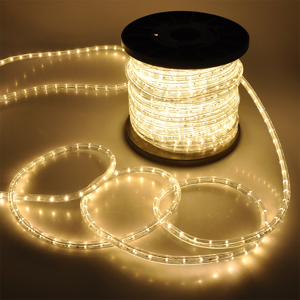 150 39 Led Rope Light 110v 2 Wire Party Home Christmas