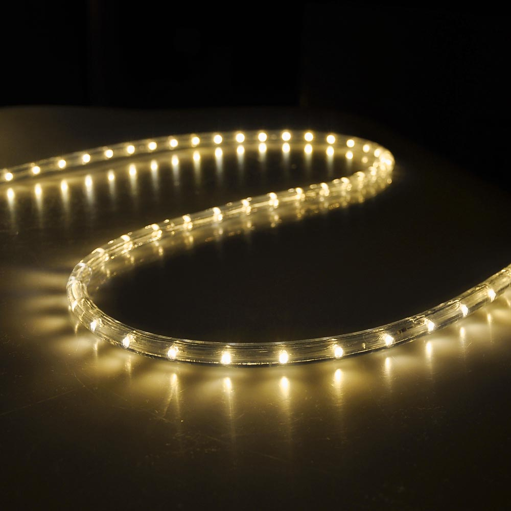 Led rope light v wire party home christmas