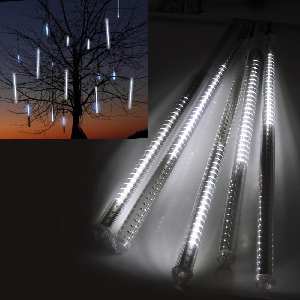 Led Snow Lights : Smd led meteor shower snow falling light valentine
