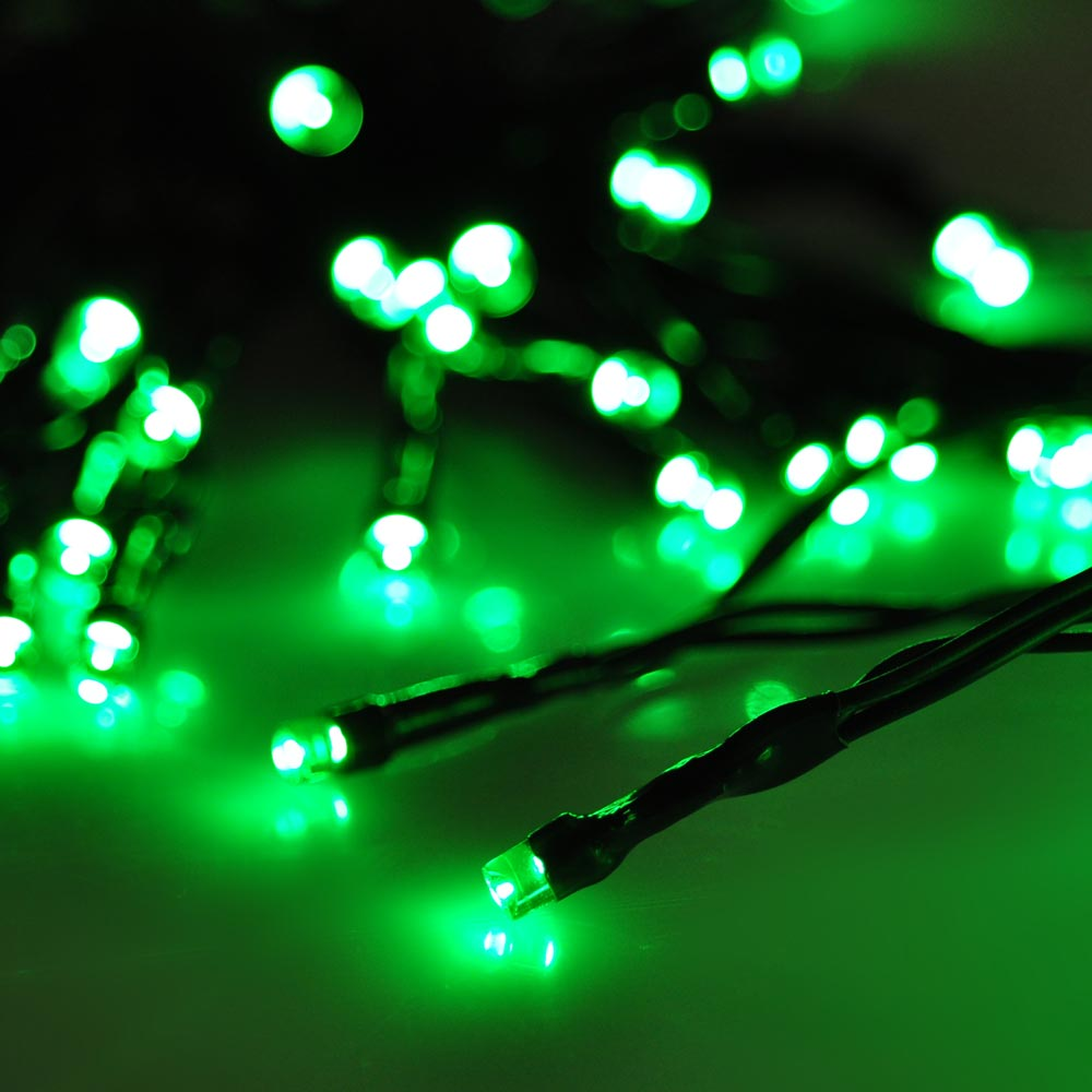 Led solar fairy string light outdoor party garden lawn