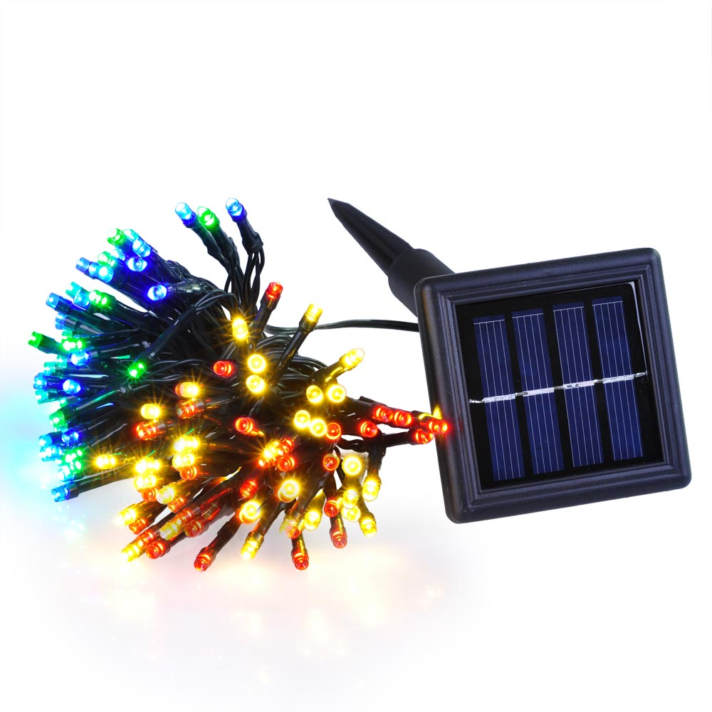 60 100 led solar power string light wedding party xmas. Black Bedroom Furniture Sets. Home Design Ideas