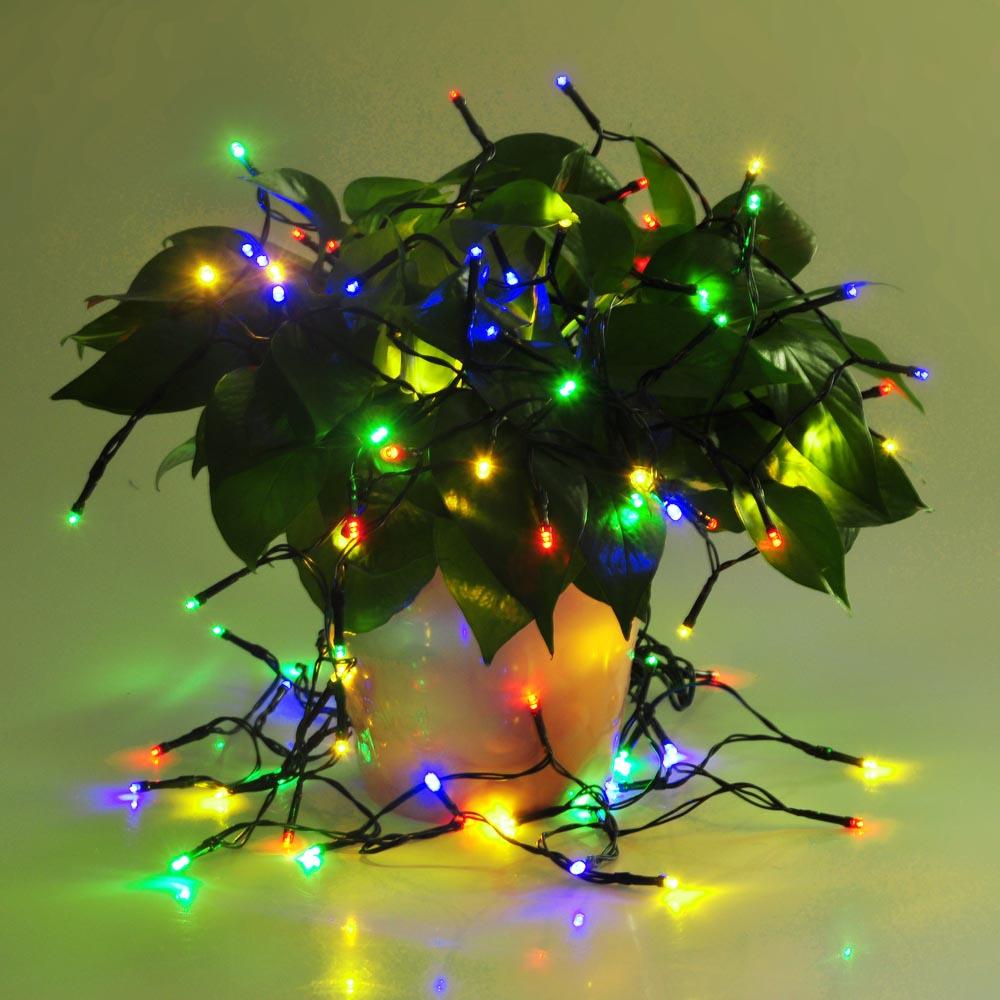 Solar Party String Lights Outdoor : 100 LED Solar Fairy String Light Outdoor Party Garden Lawn Waterproof Decor Lamp eBay