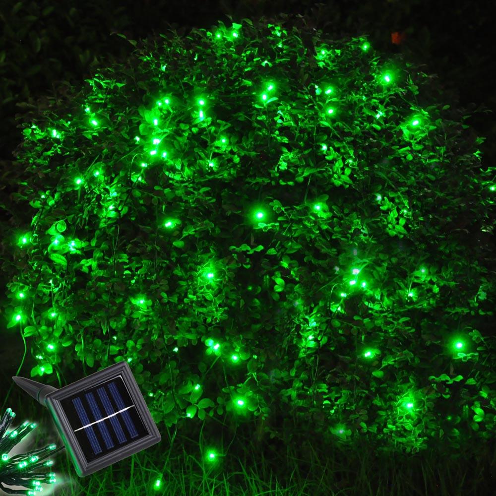 60 LED String Solar Light Outdoor Garden Xmas Wedding Party Fairy Tree Lamps eBay