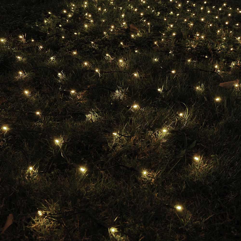 Outdoor String Lights Net : 100 LED Solar String Light Power Fairy Outdoor Yard Lawn Xmas Christmas Net Lamp