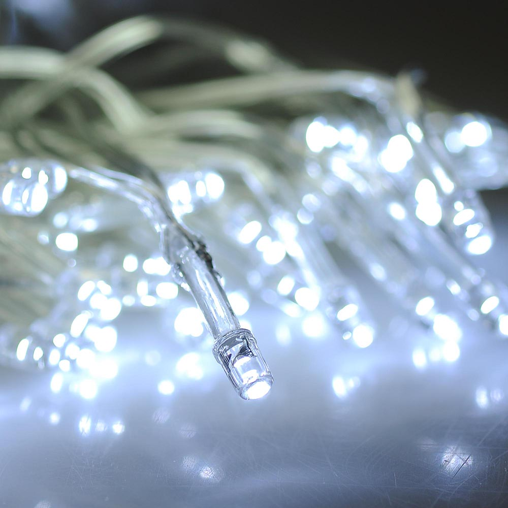 String Lights In Window : 100 LED Solar Window String Light Waterproof Garden Outdoor Xmas Party Decor eBay