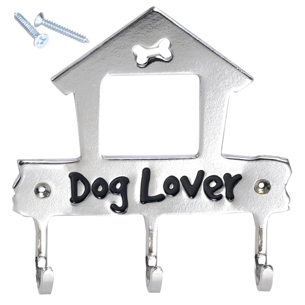 Metal Wall Mount Key Hook Hanger Holder For Dog Cat