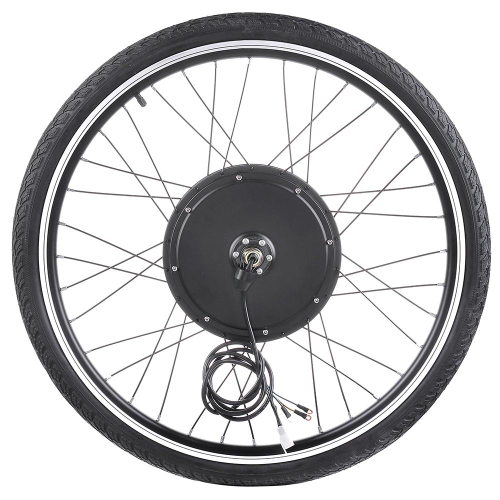 "28/"" 48V LCD 1000W e-bike conversion kit Electric Bike rear Motor for rear wheel"