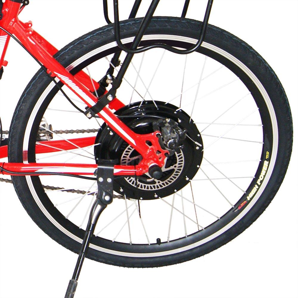 48v1000w 26 rear wheel electric bicycle motor kit e bike for Electric bike rear hub motor