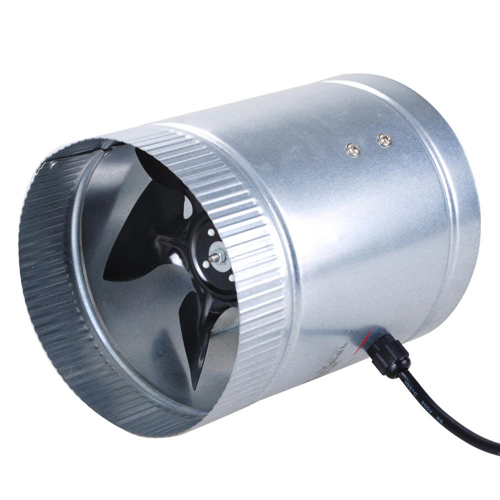 4 Inline Exhaust Fan : Quot upgrade inline duct fan blower high cfm