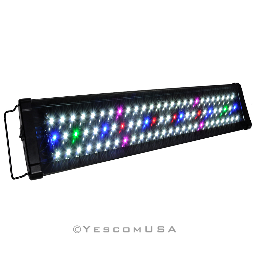 0 5w 24 36 48 multi color led aquarium light full spec. Black Bedroom Furniture Sets. Home Design Ideas
