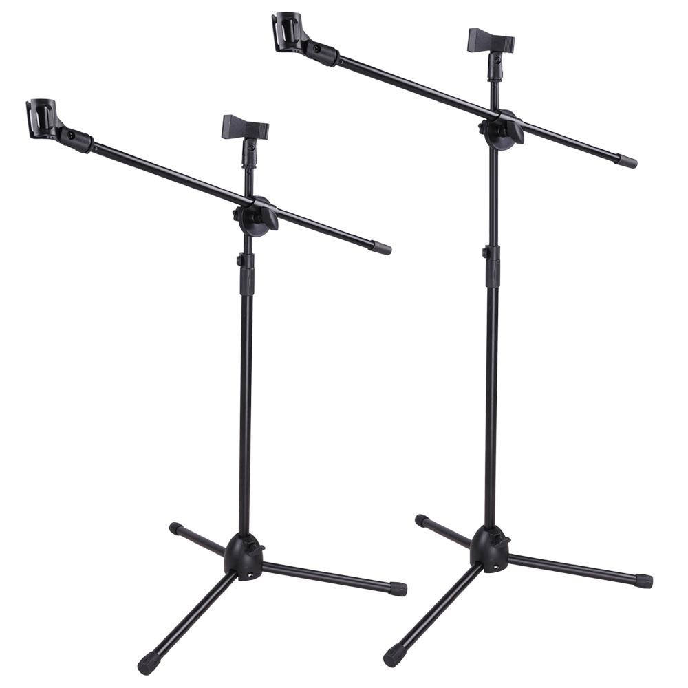 new boom microphone mic clip stand holder studio arm