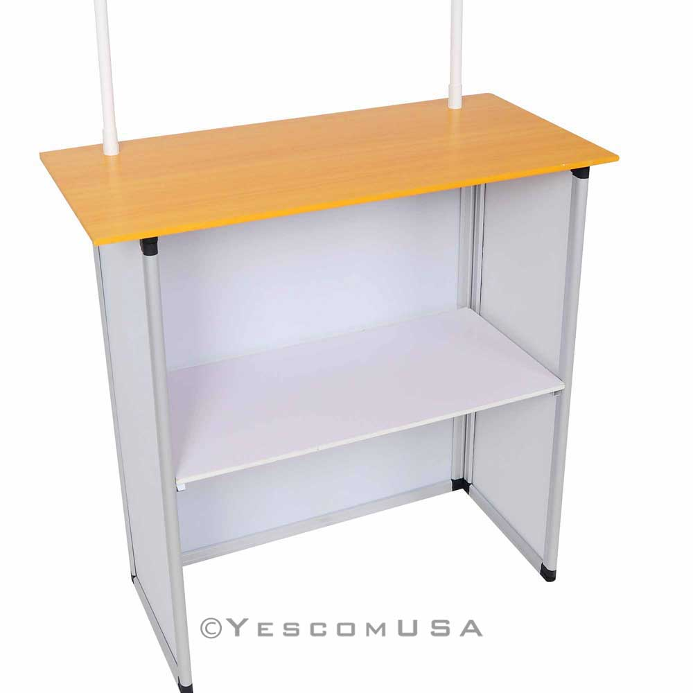 Portable trade show table display booth promotion counter for Display table
