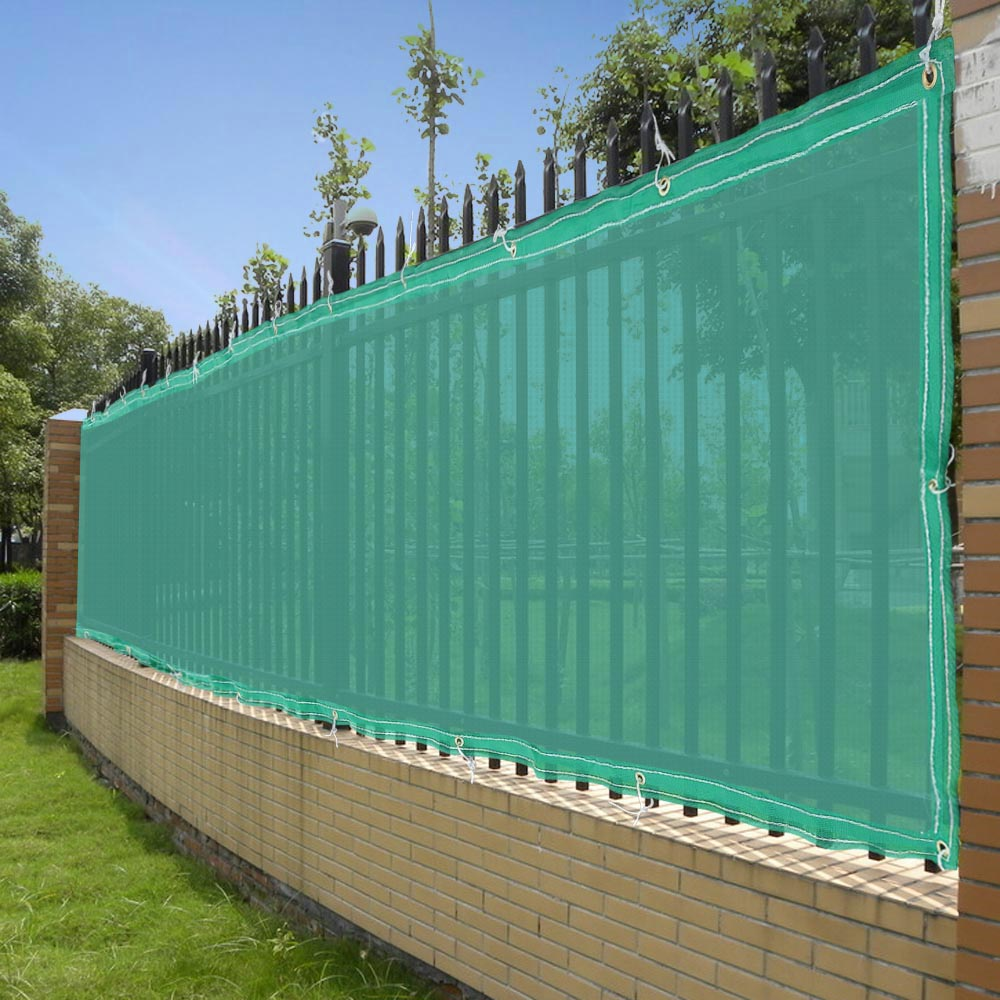 High Quality ... Patio Umbrella Mesh Netting By 50ft Privacy Fence Mesh Screen Windscreen  Fabric For 4ft ...