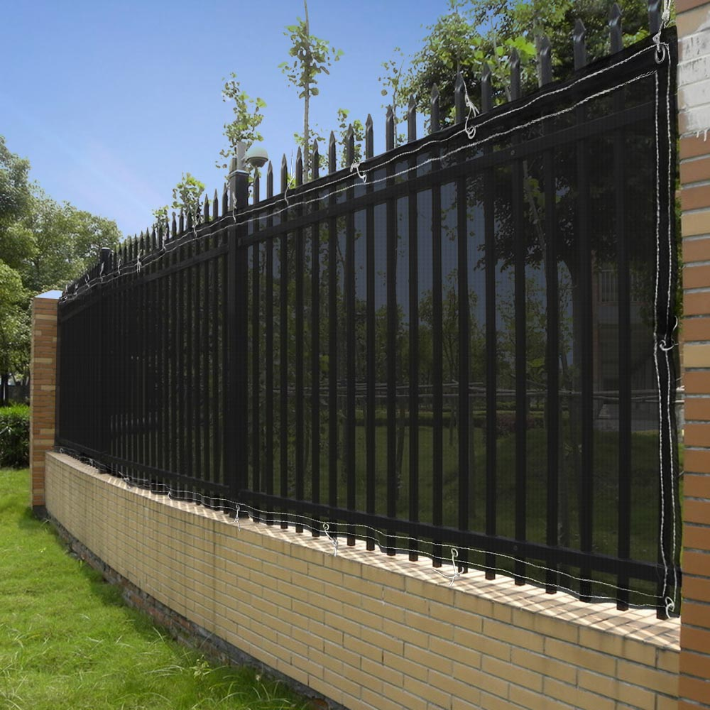 50ft privacy fence mesh screen windscreen fabric for 4ft for Tall outdoor privacy screen panels