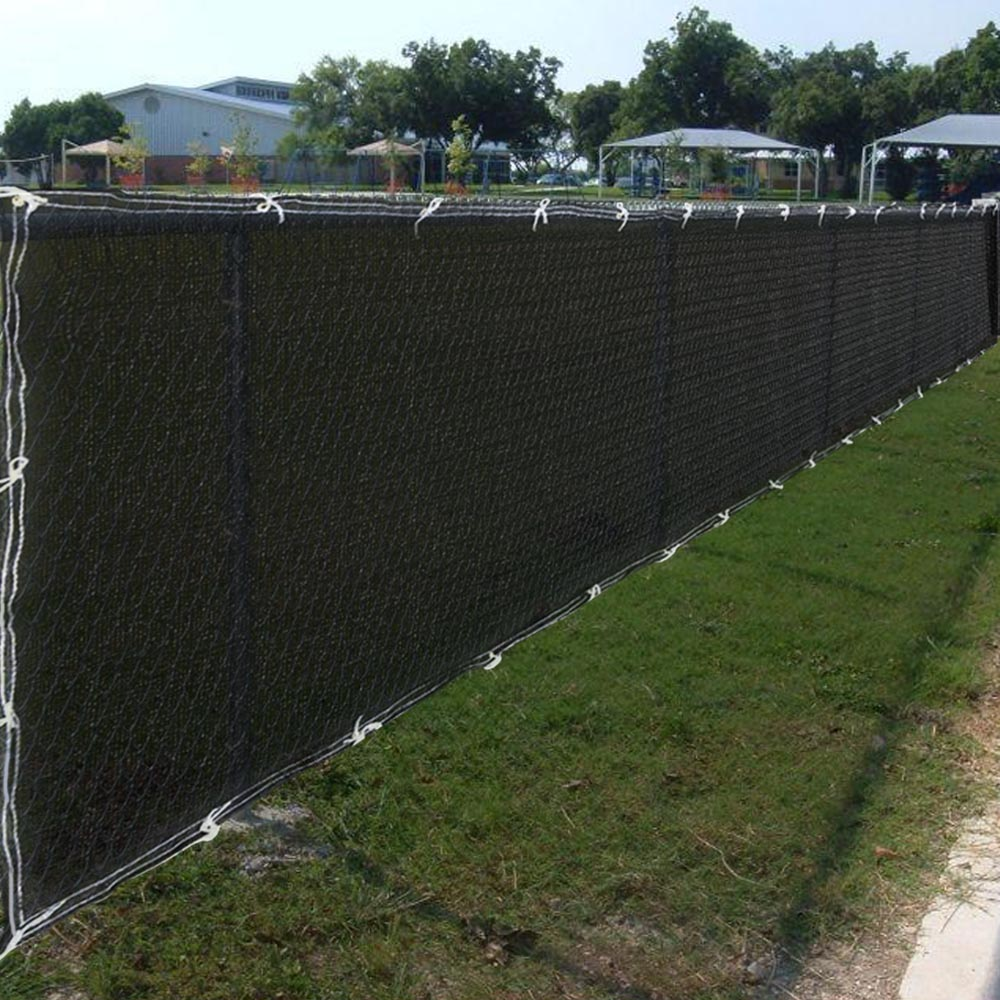 50ft Privacy Fence Mesh Screen Windscreen Fabric For 4ft