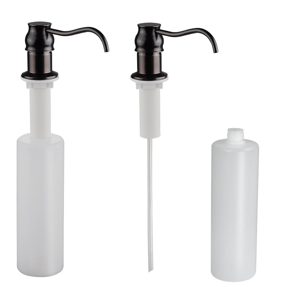 """18"""" Pull Down Kitchen Sink Faucet With Soap Dispenser"""
