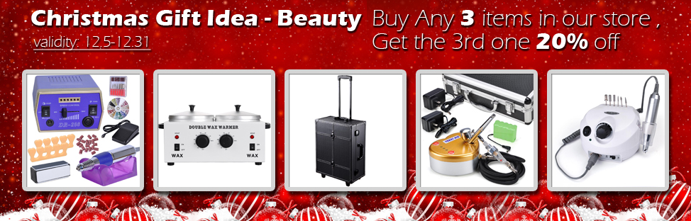 Christmas Gift Idea - Beauty - Buy 2, Get 1 at 20% off - Validity 12/05 - 12/31