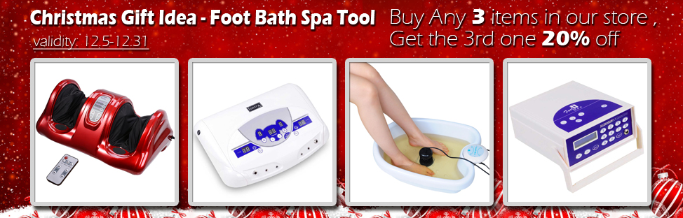 Christmas Gift Idea - Spa - Buy 2, Get 1 at 20% off - Validity 12/05 - 12/31