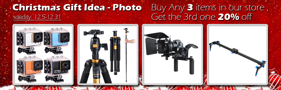 Christmas Gift Idea - Photo - Buy 2, Get 1 at 20% off - Validity 12/05 - 12/31