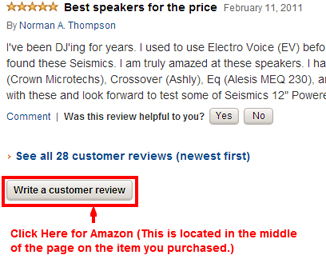 Amazon Review Example