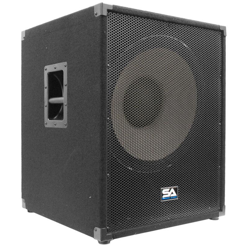 seismic audio 18 subwoofer pa dj pro audio speaker sub. Black Bedroom Furniture Sets. Home Design Ideas