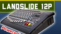 Landslide 12 - 12 Channel Power Mixer