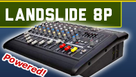 Landslide 8 - 8 Channel Power Mixer