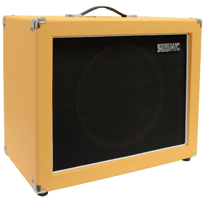Seismic Audio 12 GUITAR SPEAKER CABINET EMPTY 1x12 Cab Orange Tolex
