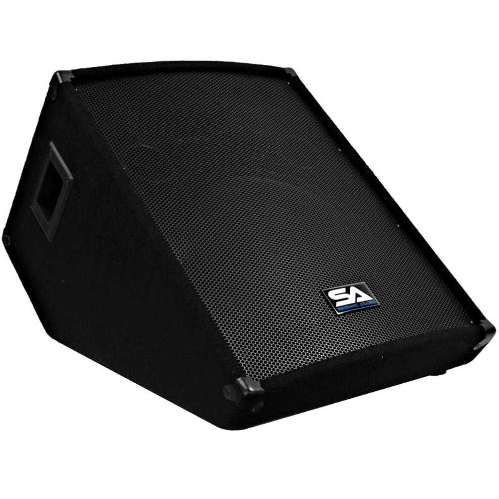 Seismic audio new 15 pa floor monitor stage vocals for 15 floor speakers