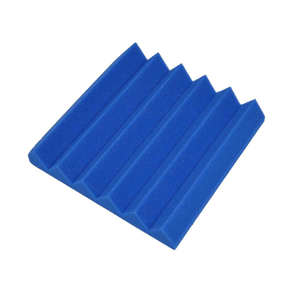12 pack blue 2 inch studio acoustic foam sheets soundproof for Soundproof foam