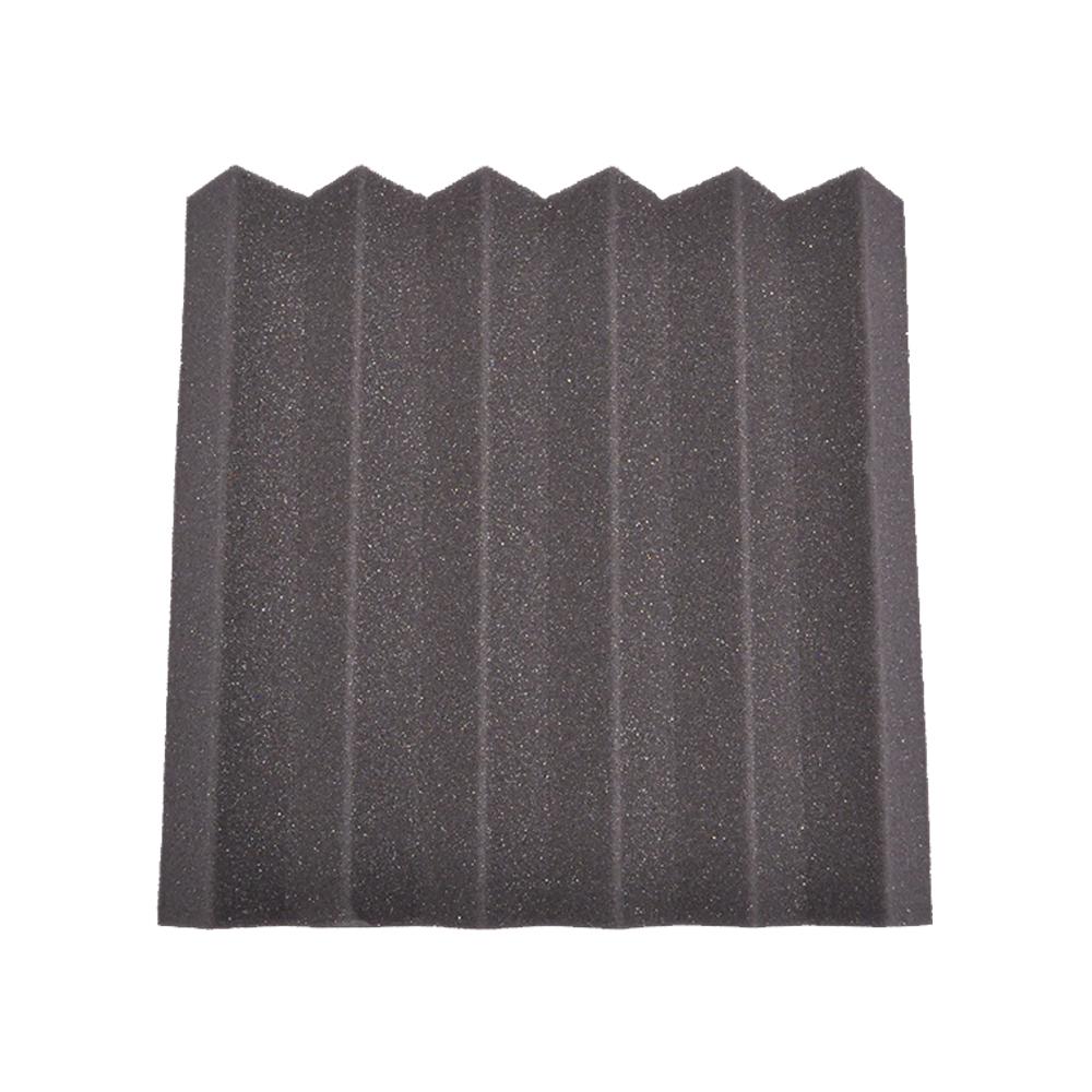 12 pack of charcoal 2 inch studio acoustic foam sheet for Soundproof foam