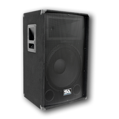 Seismic audio pair 15 pa speakers 15 inch memphis for 15 inch floor speakers