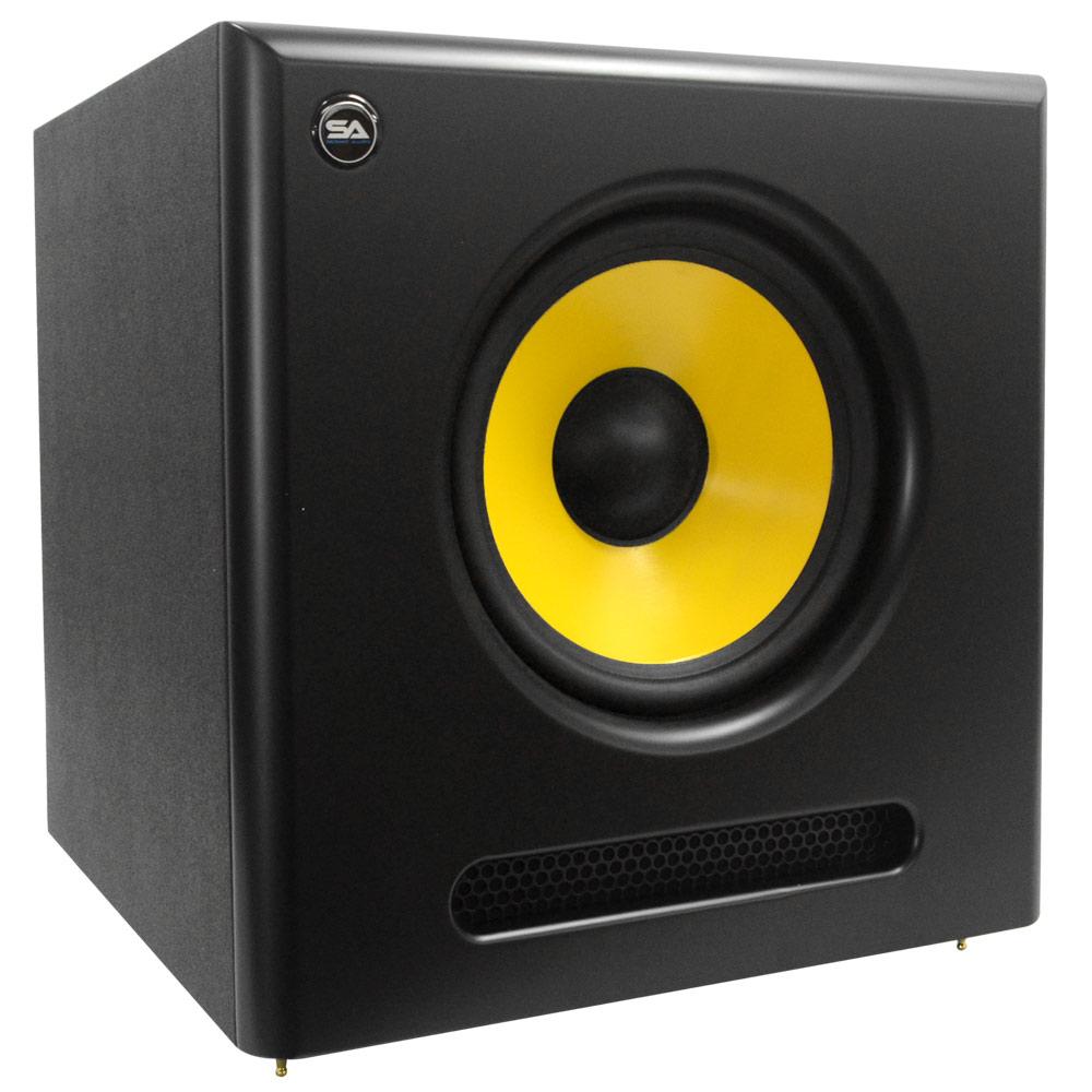 seismic audio active 10 inch studio subwoofer 100 watts. Black Bedroom Furniture Sets. Home Design Ideas