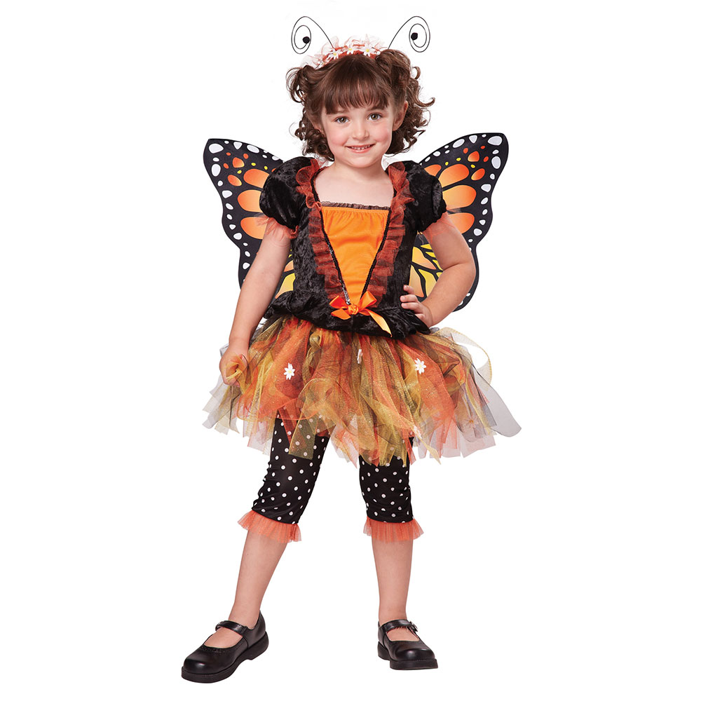 Butterfly Halloween Costumes butterfly child halloween costume Toddler Monarch Butterfly Halloween Costume