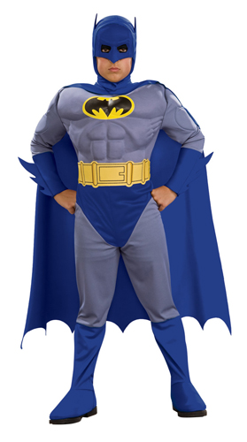 Deluxe Batman Brave and Bold Muscle Child Costume