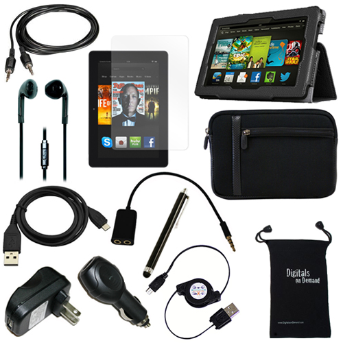 12 Item Bundle For Amazon Kindle Fire Hdx 7 Quot Tablet