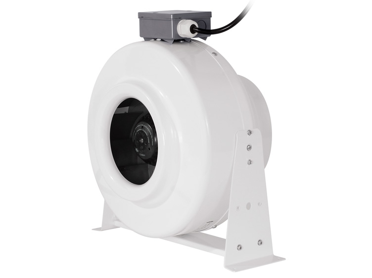 Premium-grade 8-inch Inline Fan for Air-cooled Systems