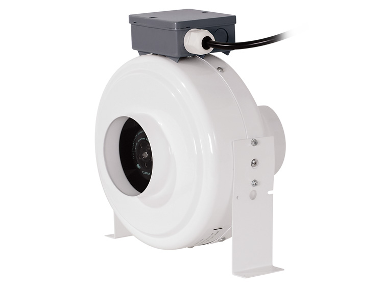 Inline Exhaust Blowers : Quot inline duct fan blower hydroponic grow room air vent