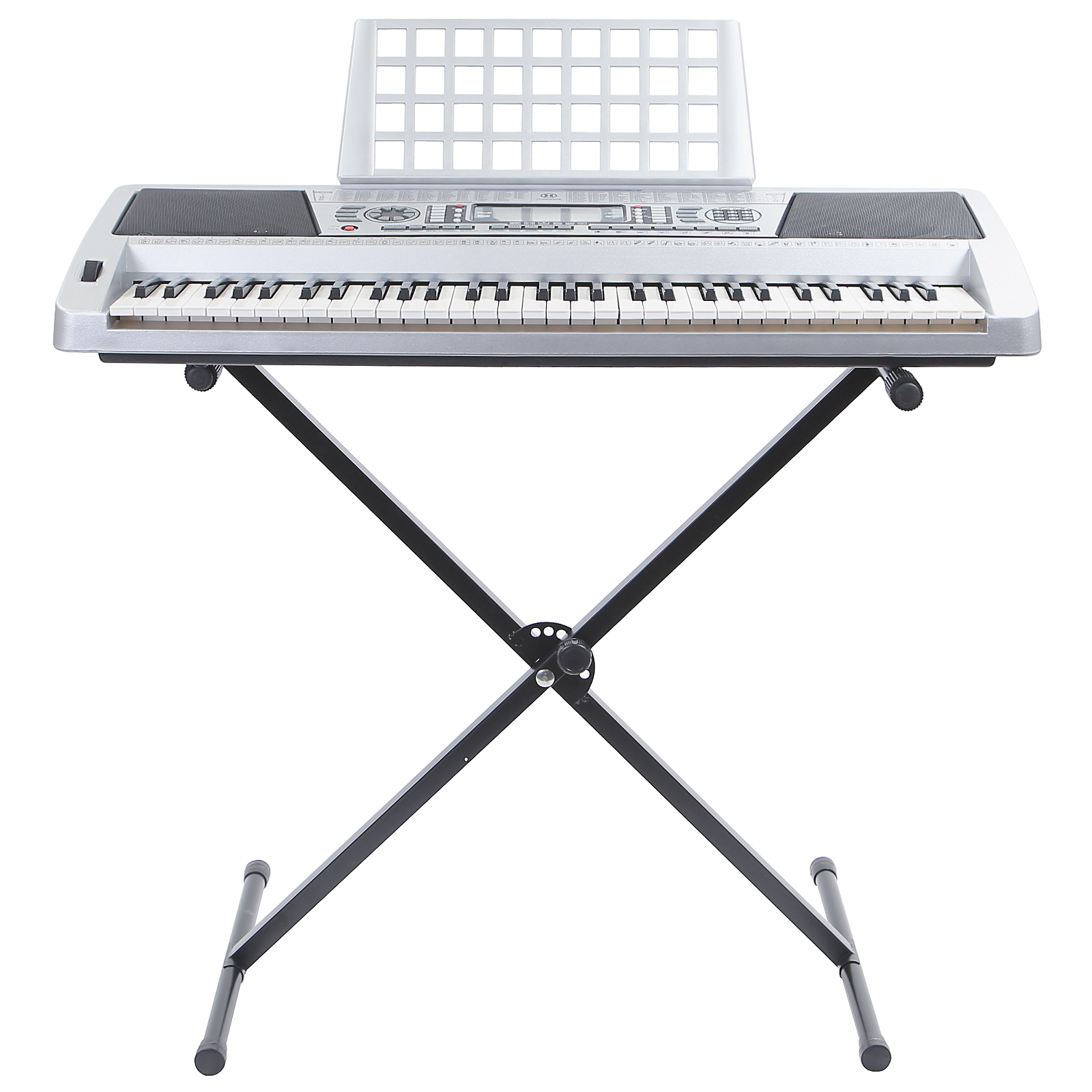 61 Key Electric Music Keyboard Piano W Stand Touch