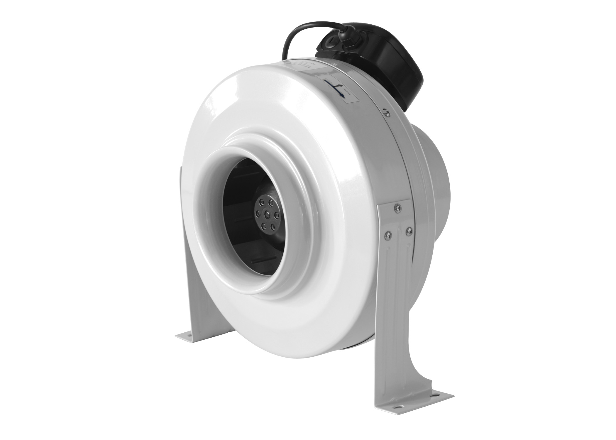 3 Inch Inline Fan : Quot inline duct fan blower hydroponic air vent exhaust